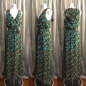 Bebe One of a kind Hooded Maxi Dress